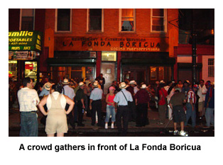 la Fonda Boricua, el Barrio, New York City