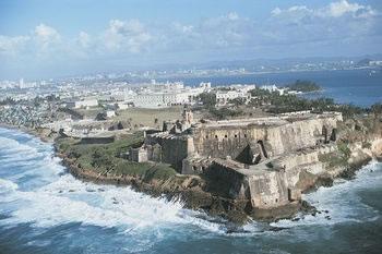 el Morro Old San Juan Puerto Rico