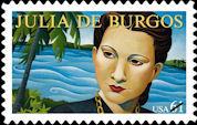 Puerto Rican Poet Julia de Burgos Honored with US Stamp