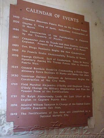 History of el Morro