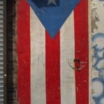 Puerto Rico Flag Door