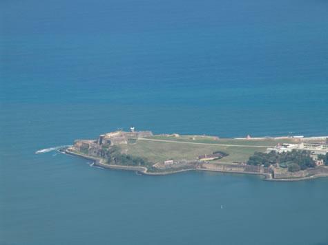 Aerial View of el Morro