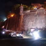 Outside Wall of el Morro at Night