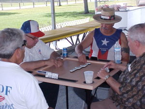 Puerto Rican Domino Table