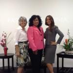 Yvonne Salas, Elizabeth Baez and Sandra Sanchez