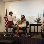 Flute Duet by Jasmine Michelle Banegas and John Joseph Dieck