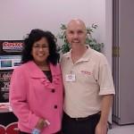 Elizabeth Baez, and Breakfast Sponsor Bob de Santi from Costco