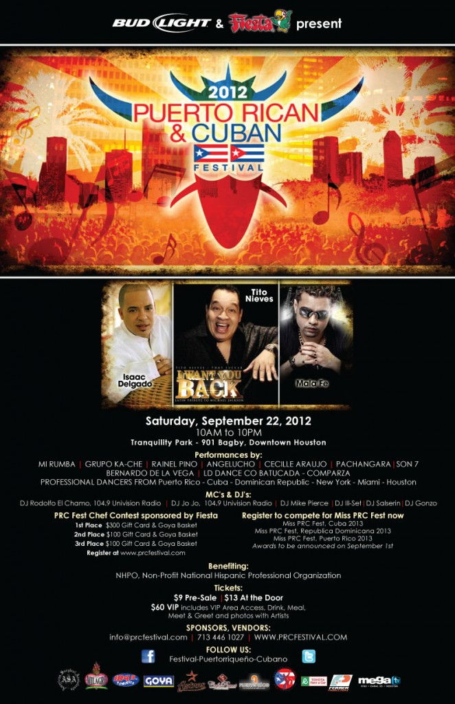 Puerto Rican Cuban Festival 2012