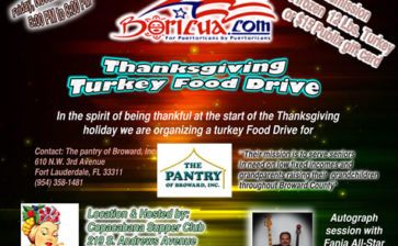Thanksgiving Turkey Food Drive Was a GREAT SUCCESS!!