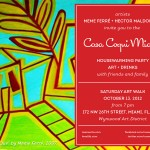 Casa Coqui Miami Housewarming Party