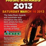 the Salsa Music Awards 2013