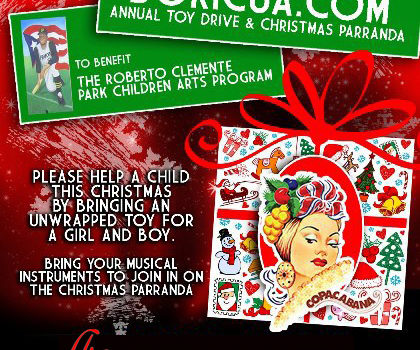 Boricua.com Toy Drive at the Copacabana