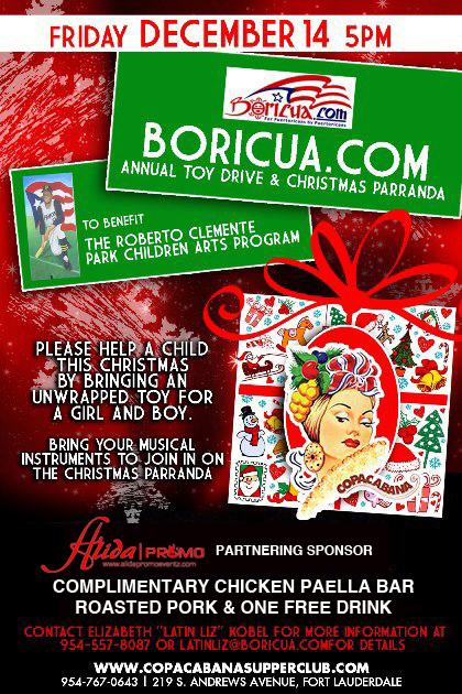 Boricua.com Annual Toy Drive