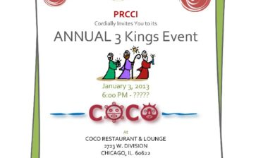 Puerto Rican Chamber of Commerce of Illinois Annual Three Kings Event
