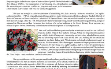 Puerto Rican Arts Alliance Annual Appeal 2012
