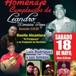 Homenaje Cumpleanos de Leandro Roque