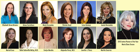 the Hispanic Women of Distinction