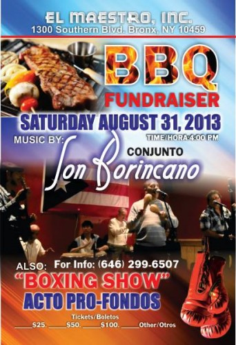 El Maestro BBQ Fund Raiser