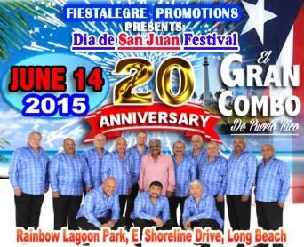 20th Anniversary Dia de San Juan Festival