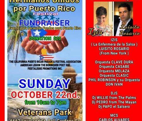 Hermanos Unidos por Puerto Rico Festival