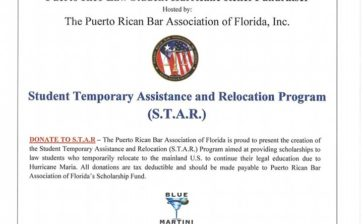 Puerto Rico Law Student Hurricane Relief Fundraiser
