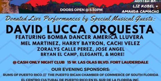 Soy Boricua Benefit for Puerto Rico