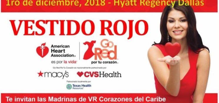 Vestido Rojo Dallas 2018