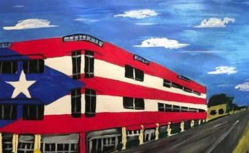 Allow the mural of our Puerto Rican flag to STAY on Biscayne