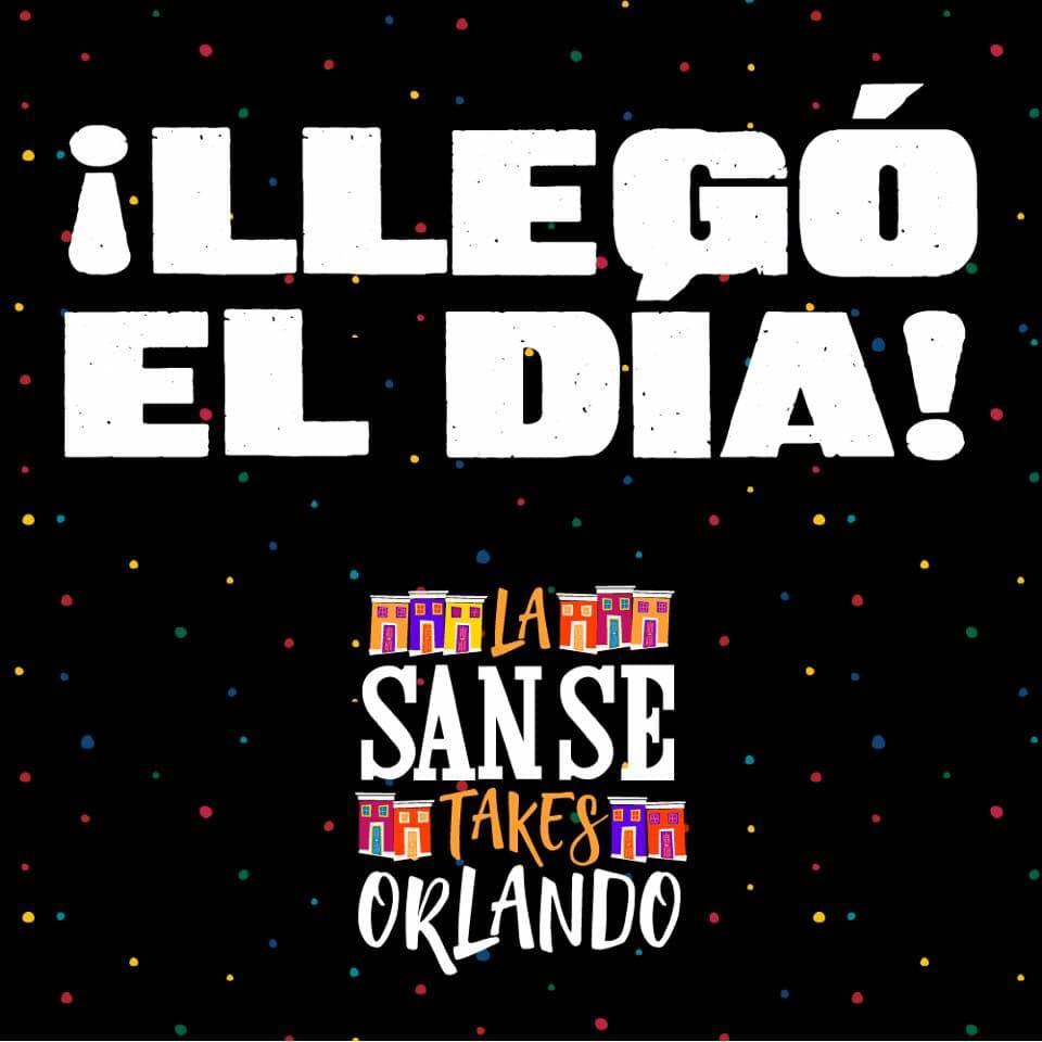 la SanSe takes Orlando logo