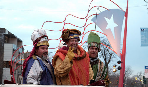 Humboldt Park celebrated the 25th Annual 3 Kings Day