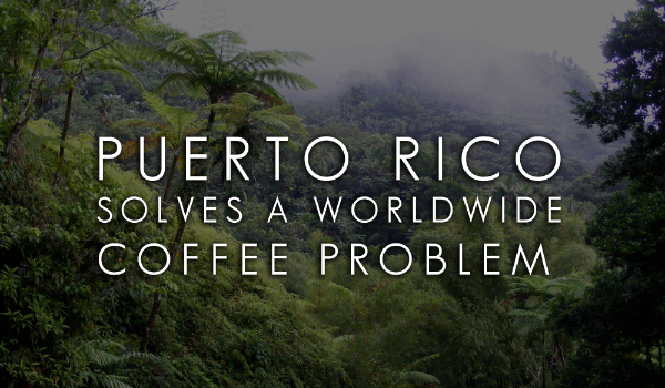 Puerto Rico Solves a Worldwide Coffee Problem