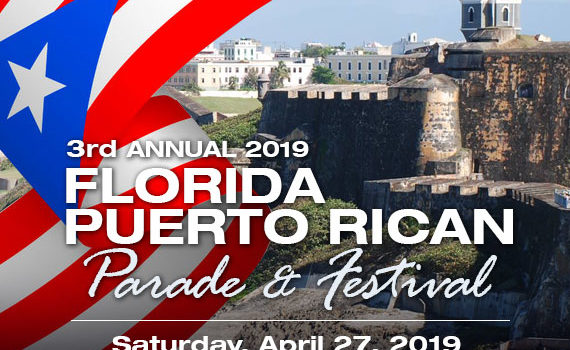 3rd Annual Florida Puerto Rican Parade and Festival