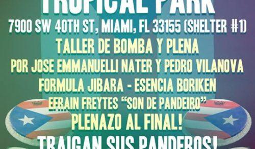 2nd Festival Anual de Bomba y Plena de Miami
