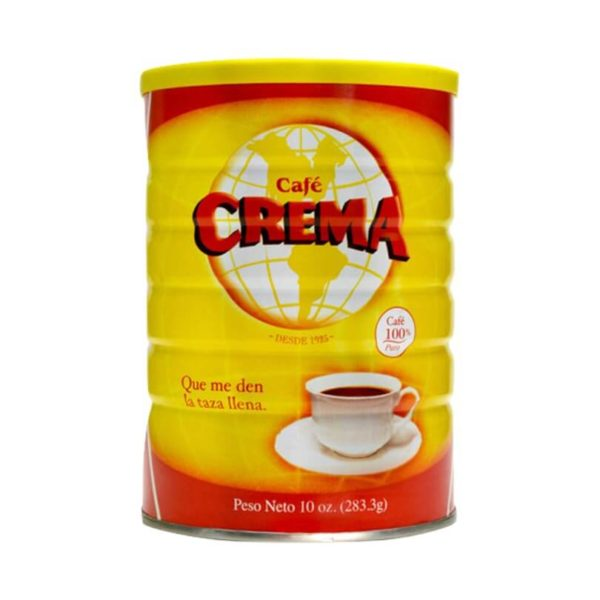 Café Crema – Ground 10 oz. Can