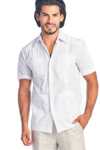 Guayabera Men White