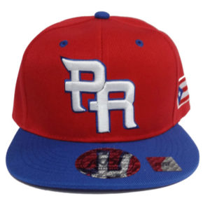 PR Puerto Rico Baseball Cap