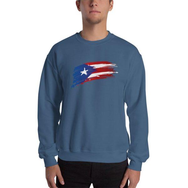 PR Strokes Flag Sweatshirt