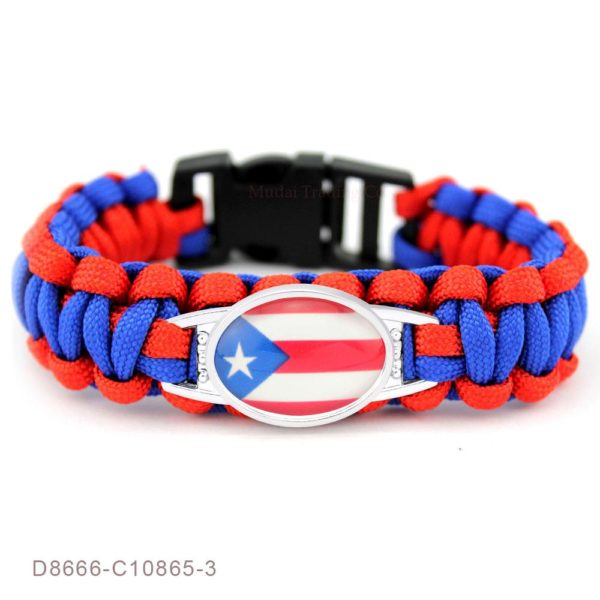 Puerto Rico Rope Bracelet