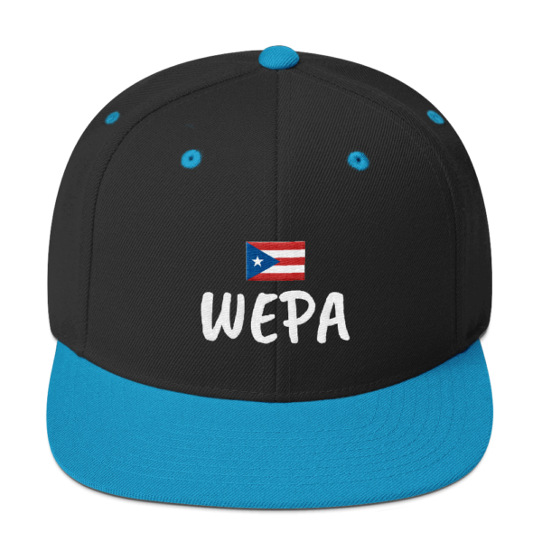 Wepa Puerto Rico Snap Back Cap