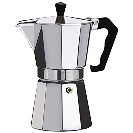Greca de Aluminio – Stove Coffee Maker 3 & 6 Cups