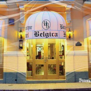 Hotel Belgica Front Entrance