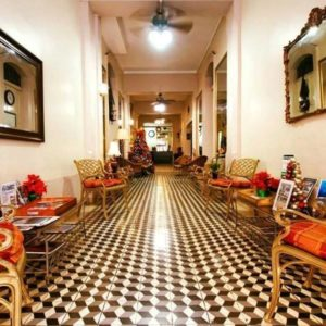 Hotel Belgica Lobby