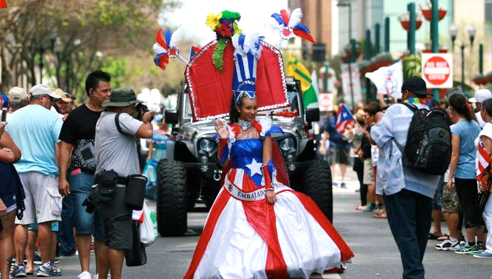 Florida Puerto Rican Parade Queen