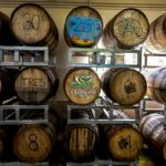 Crab Island Rum Distillery Barrel Room