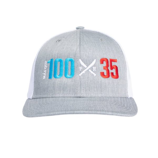 "Jibaro ""More Than"" Cap Grey"