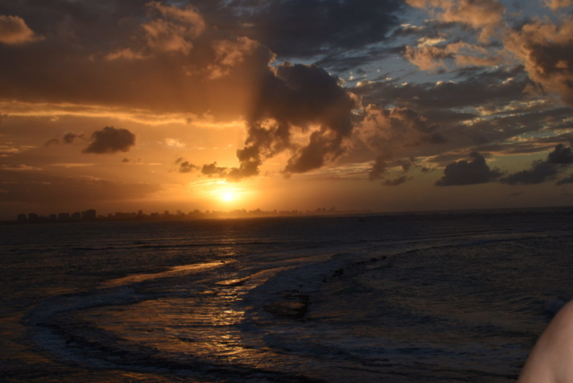 our last sunset in Puerto Rico