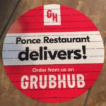 Ponce Restaurant Delivers Grub Hub
