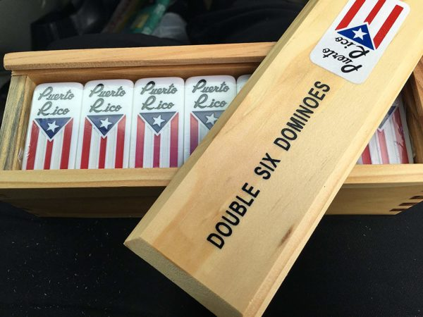 Puerto Rico Flag Dominoes