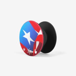 Rican Flag Pop Socket