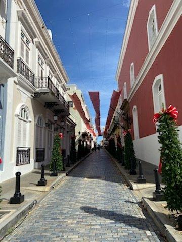 Calle la Fortaleza Old San Juan